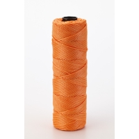 Nylon Mason Twine, 1/4 lb. Twisted, 18 x 275 ft., Glo Orange (Pack of 6)