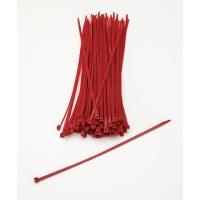 M14970-79-11, Multi-Purpose Locking Ties, 11 in., Red (Pack of 100), Mega Safety Mart