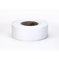 Flagging Tape Ultra Standard, 1-3/16' x 100 YDS, White (Pack of 12)
