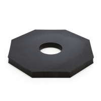 M17724, PVC Traffic Delineator Base only - #12, Mega Safety Mart