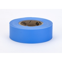 M17777-125-1875, PVC TUNDRA Flagging Tape, 5 mil, 1-3/16 x 50 yd., Glo Blue (Pack of 12), Mega Safety Mart