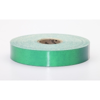 Engineering Grade Retro Reflective Adhesive Tape, 10 yds Length x 1' Width, Green