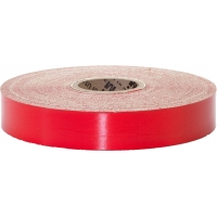 Engineering Grade Retro Reflective Adhesive Tape, 10 yds Length x 1' Width, Red