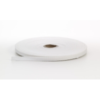 Twill tape, .25 in Wide, 36 yds, White