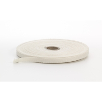 Twill tape, .25 in Wide, 36 yds, Natural