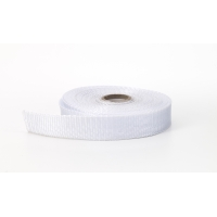 Polypropylene webbing, 2 in Wide, 10 yds, White