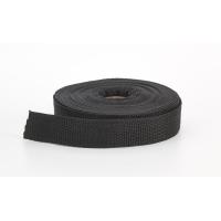 M2020-002-1-10, Polypropylene webbing, 1 in Wide, 10 yds, Black, Mega Safety Mart