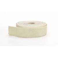 Polypropylene webbing, 1.5 in Wide, 10 yds, Bone