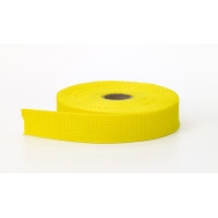 Polypropylene webbing, 2 in Wide, 10 yds, Yellow