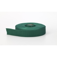 Polypropylene webbing, 1.5 in Wide, 10 yds, Kelly
