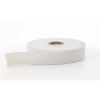 Knit elastic, White 1 in - 10 yards (Pack of 6)