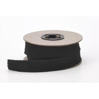 M3080-9999-1-10, Knit elastic, Black 1 in - 10 yards, Mega Safety Mart