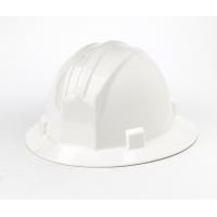 M50210-10, Polyethylene Ratchet Suspension Full Brim Hard Hat, White, Mega Safety Mart