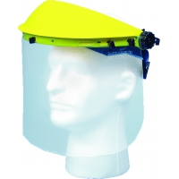 M50510, Plastic Face Shield with Visor, Mega Safety Mart