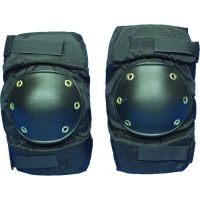 Knee Pads, Plastic, Abrasion Resistant, Large