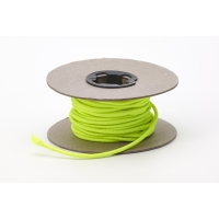 Shock cord, .125 in Wide, 15 yds, Neon Yellow