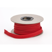 Broadcloth cord piping, 1/2 in Wide, 25 yds, Red