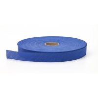 Broadcloth flat bias binding, 1.5 in Wide, 25 yds, Cobalt