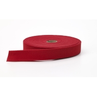 M9810-486-25, Quilt binding, brushed, 2 in fold in half, finish 1 in, 25 yds, Cherry, Mega Safety Mart