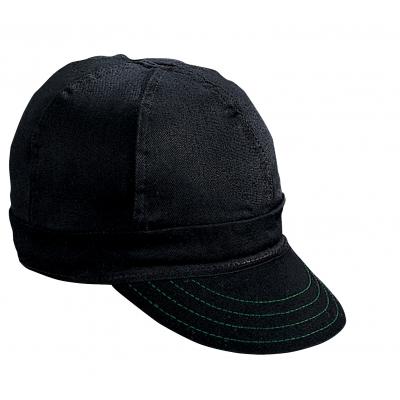 00250-00000-6875, Kromer Black Welder Welder Cap, Cotton, Length 5, Width 6, Mega Safety Mart