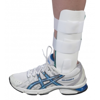 10-22061-2, Airgel Ankle Brace -Regular-White, Mutual Industries