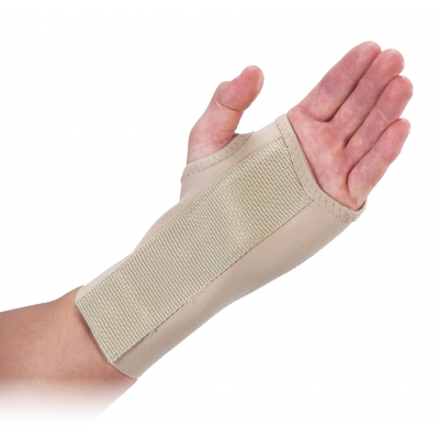 10-22092, 7 in Wrist Splint - Right -Beige, Mutual Industries