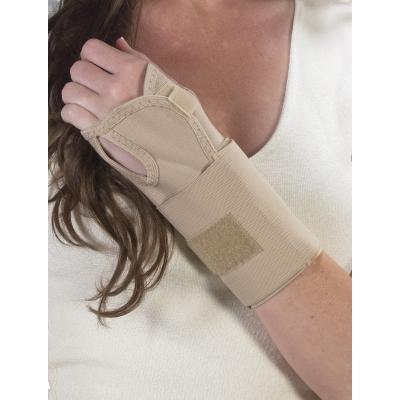 10-22100, Wrist Splint Ambidextrous -Beige, Mega Safety Mart