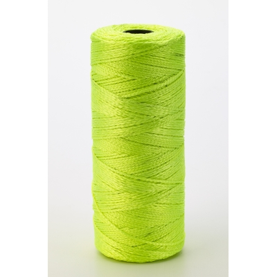 14661-139-1090, Nylon Mason Twine, 1 lb. Twisted, 18 x 1090 ft., Glo Lime (Pack of 6), Mega Safety Mart