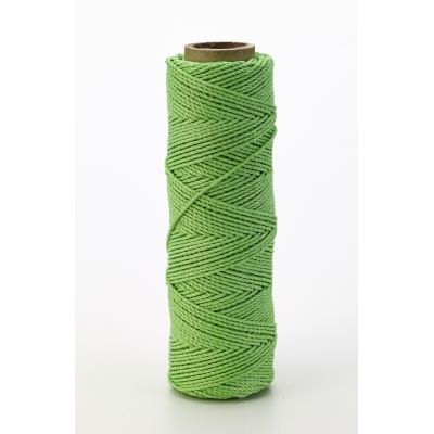 14662-39-250, Nylon Mason Twine, 1/4 lb. Braided, 18 x 250 ft., Green (Pack of 6), Mutual Industries