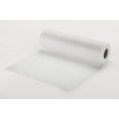 1660, White no-show embroidery backing 12 x 25 yds, Mega Safety Mart