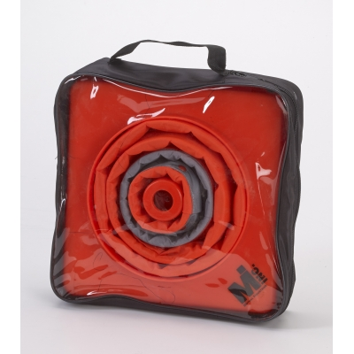 17714-4-18, Nylon Collapsible Traffic Cone, 18 Height, Orange -4PK, Mega Safety Mart