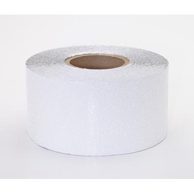 17786-1010-4000, Engineering Grade Retro Reflective Adhesive Tape, 10 yds Length x 4 Width, White, Mutual Industries