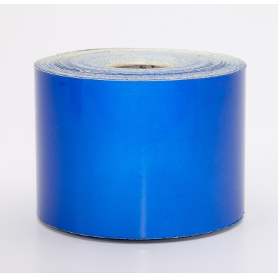 17786-2510-4000, Engineering Grade Retro Reflective Adhesive Tape, 10 yds Length x 4 Width, Blue, Mutual Industries