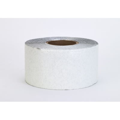 17793-10-4000, Engineering Grade Foil Backed Pavement Marking Adhesive Tape, 50 yds Length x 4 Width, White, Mutual Industries