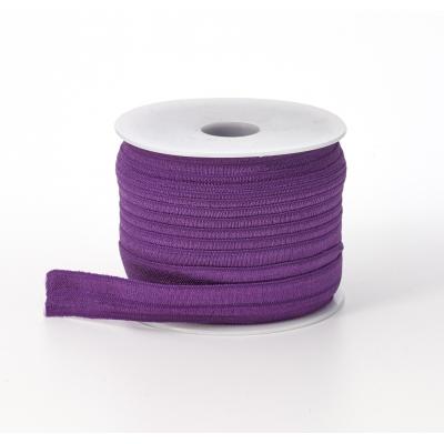 3070-026, Foldover elastic, .625 Wide, 25yds, Purple, Mega Safety Mart