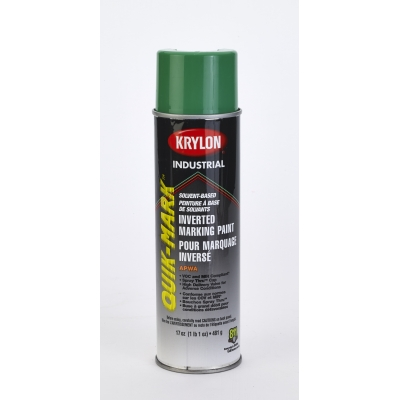 3631-39, Krylon Inverted Marking Paint, 20 oz, 12 PK, S03631V-Apwa Green, Mutual Industries