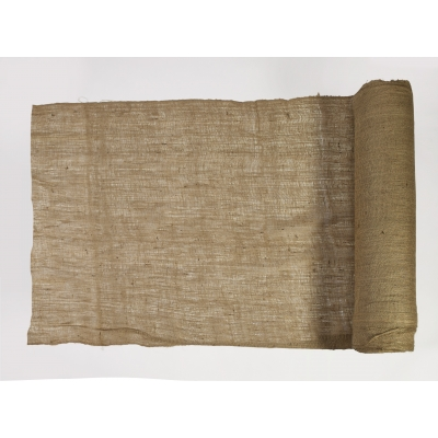 44004-100-48, Burlap Fabric, 100 yds Length x 48 Width, Natural, Mega Safety Mart