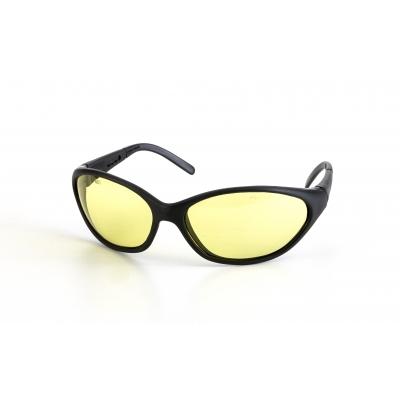 50083, Dolphin Glasses, Amber (Pack of 12), Mega Safety Mart