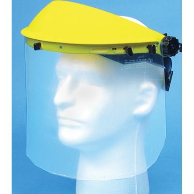 50510, Plastic Face Shield with Visor, Mega Safety Mart