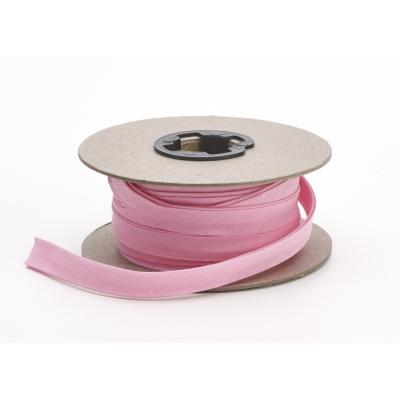 82-050-9223-15, Broadcloth centerfold bias, 1/2 Wide, 15 yds, Pink, Mega Safety Mart