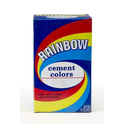 9005-0-5, Mutual Industries 9005-0-5 Rainbow Cement Color,  5 lb., LP Red, Mutual Industries