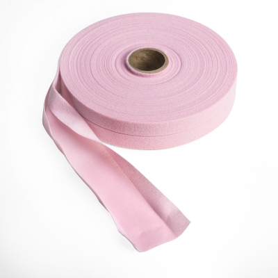 9800-642-25, Quilt binding, brushed, 1 centerfold, 25 yds, Pink, Mutual Industries