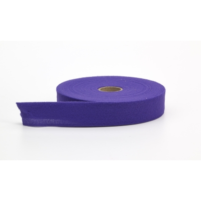 9810-279-25, Quilt binding, brushed, 2 fold in half, finish 1, 25 yds, Violet, Mutual Industries