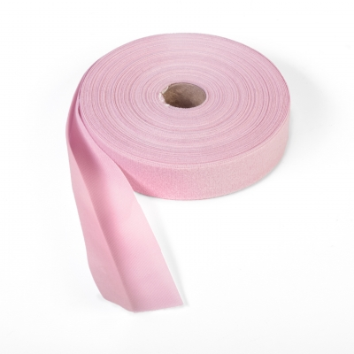 9810-642-25, Quilt binding, brushed, 2 fold in half, finish 1, 25 yds, Pink, Mutual Industries