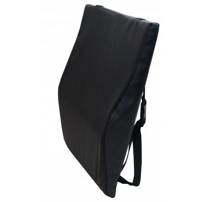 F0360, Wheelchair Back Cushion -Black, Mega Safety Mart