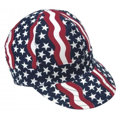 M00350-00000-0725, Kromer Americana Style Welder Cap 7 1/ 4, Cotton, Length 5, Width 6, Mega Safety Mart