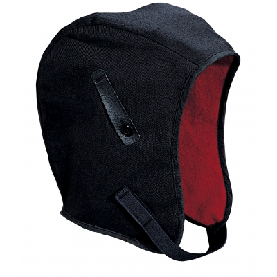 M13250, WL3-250 Kromer High Quality Hard Hat Winter Liner with Twill Regular Nape, Black, Mutual Industries