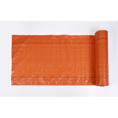 M1845-33-36, MISF 1845 Polyethylene Silt Fence Fabric, 100' Length x 36 Width, Orange, Mutual Industries