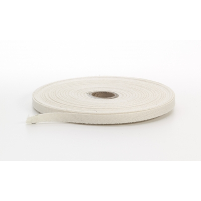 M1900-0001-025-36, Twill tape, .25 in Wide, 36 yds, Natural, Mutual Industries