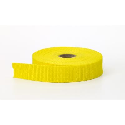M2020-314-1-10, Polypropylene webbing, 1 in Wide, 10 yds, Yellow, Mega Safety Mart